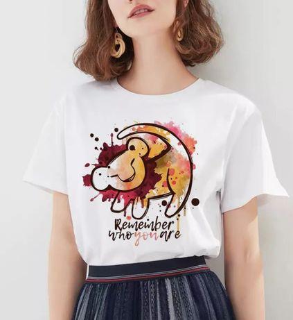 Disney Lion King Król Lew Simba koszulka bluzka t-shirt S-XXL
