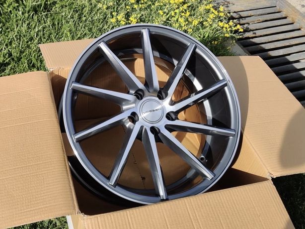 Нові диски R18 5x112 Vossen CVT AUDI A4 A5 A6 S6 A7 Mercedes E C Skoda