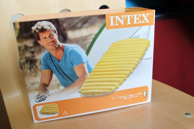 NOWY materac kempingowy / trekkingowy dla dorosłego (L), marki INTEX