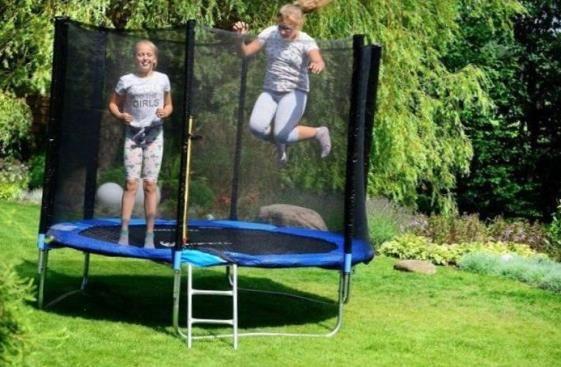 Just Jump 252 Батуты С защитной сеткой Батут 80 кг