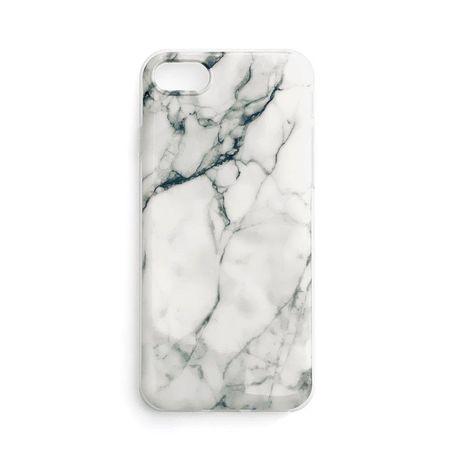 Capa Silicone Traseira Wozinsky Marble Case Cover Xiaomi Poco M3 / Xiaomi Redmi 9T Branco