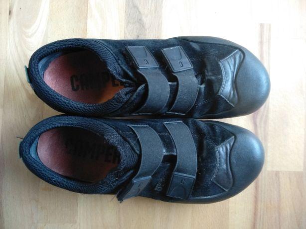 CAMPER | sapatos camurça pretos