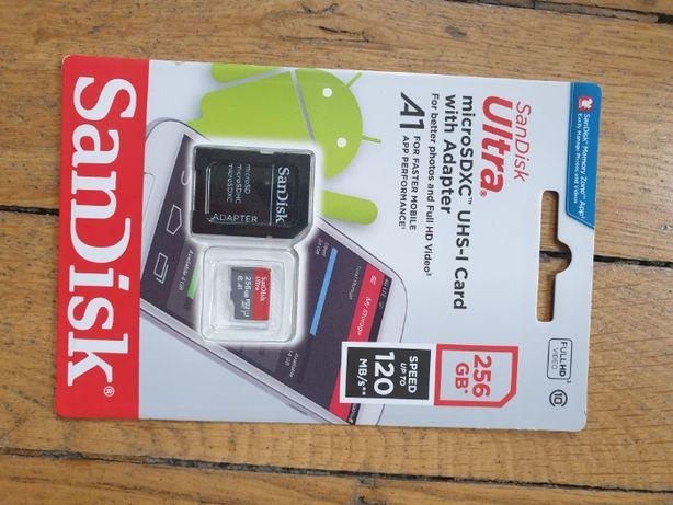 Sandisk ultra microsdxc 256GB 120MB/s micro sd