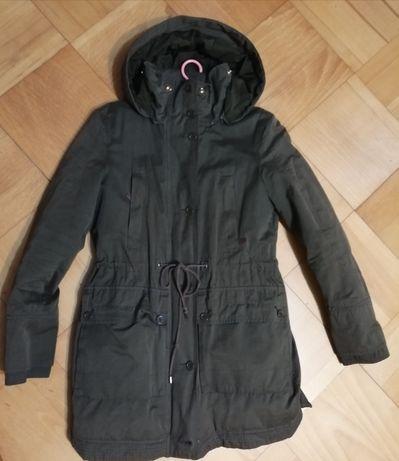 Parka Zara Trafaluc S-XS,kurtka, płaszcz
