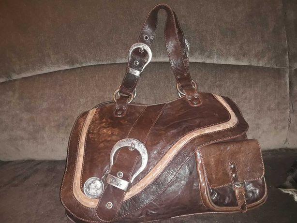 torebka Christian Dior Gaucho Double Saddle