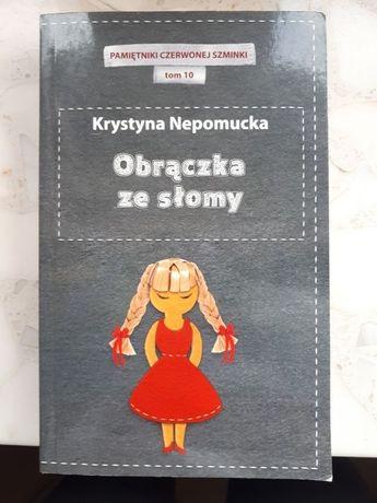 Obrączka ze słomy Krystyna Nepomucka nowa książka
