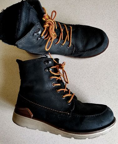 Зимние ботиночки Ecco на мальчика 33 размер 21,5-22см