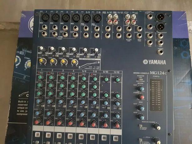 СРОЧНО!!!Микшерный пульт Yamaha mg124c и ревер Yamaha rev100 Микшер