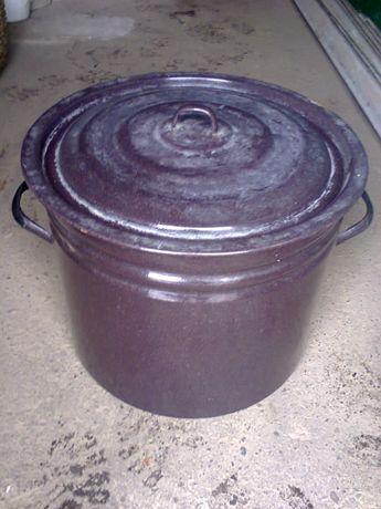 Кастрюля эмалированная 30 литров ссср