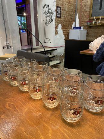 Комплект пивных бокалов 0,5-6шт 0,3-6 шт.