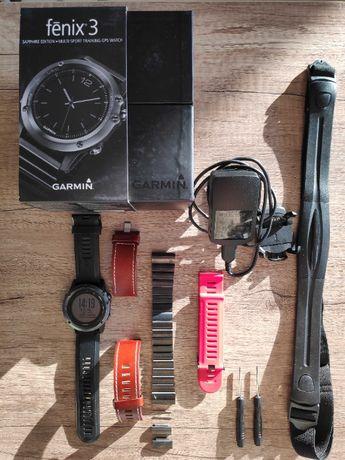 Garmin Fenix 3 Saphire + pas HR smartwatch zegarek wysyłka gratis