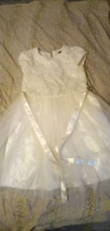 Платье новогоднее рост до140см