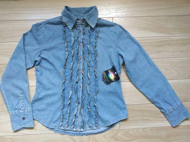 Koszula jeansowa r. 40 nowa