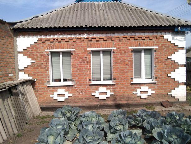 Продам дом  в Красноградском  районе  село Поповка