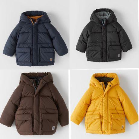 Куртка демисезонная Zara H&M next еврозима