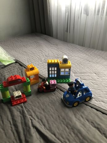 Lego duplo 10532 Policja i lego duplo 10809 patrol policyjny