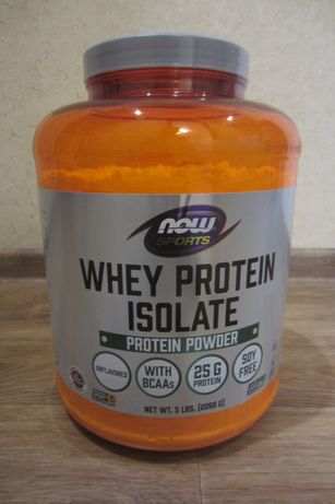 Протеин Now Foods, Whey Protein Isolate - 2268 г