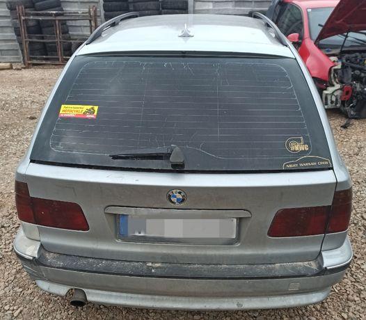 klapa kombi z otweraną szybą BMW e39 520 arktissilber metalic