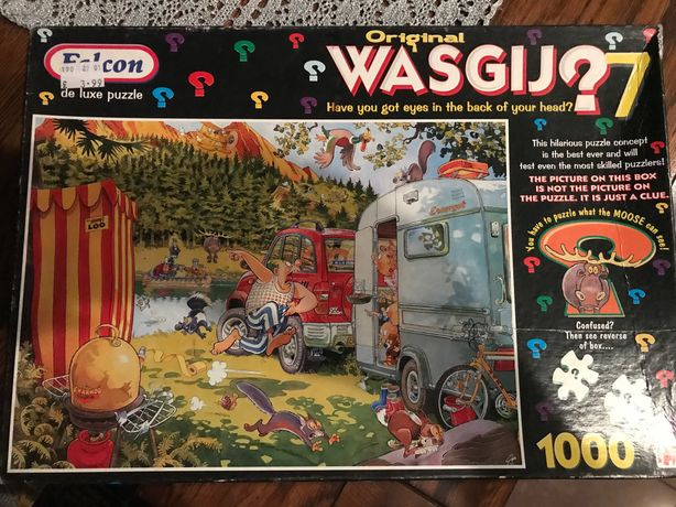Puzzle Wasgij Original 7 Falcon 1000 elementów