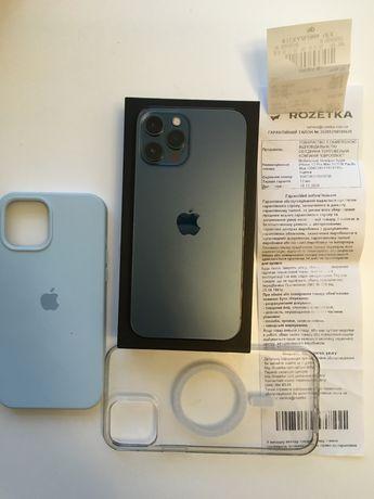 Iphone 12pro max 512g офицальный Rozetka pasific blue
