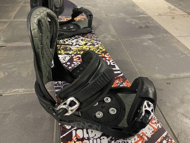 Snowboard z wiazaniami ELAN SPIKE 150