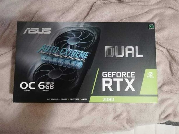 ВІДЕО КАРТА ASUS GeForce RTX™ 2060 Dual Evo OC 6GB