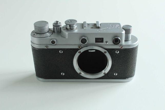 Stary aparat Zorki C Body Korpus Radziecki zabytek Kolekcja