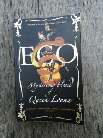 Umberto Eco The mysterious flame of Queen Loana   Книга на английском