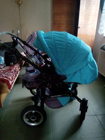 дитяча коляска satyrn 2 в 1