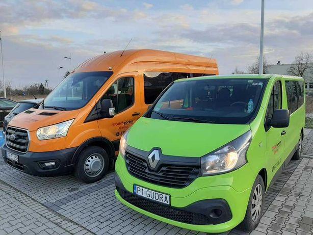 Transporter Travel Gudra Przewóz osób, wynajem busów - autokarów.