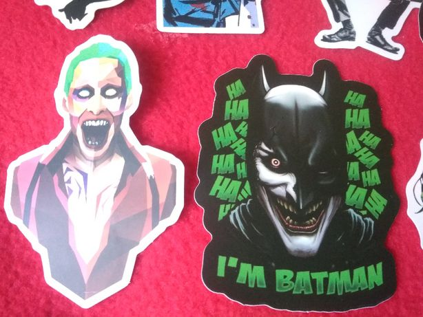 Naklejki 100 sztuk Joker batman