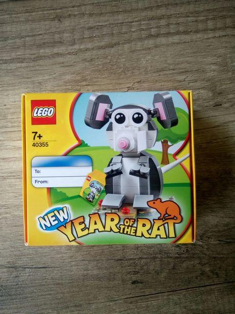 Lego 40355 year of the rat Edição limitada raro selado