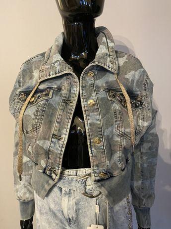 Katana jeansowa D&She S,XL