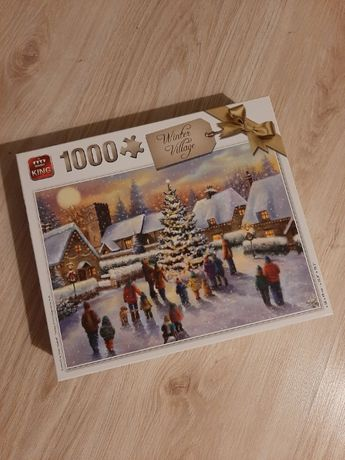 Puzzle 1000 KING Winter Village