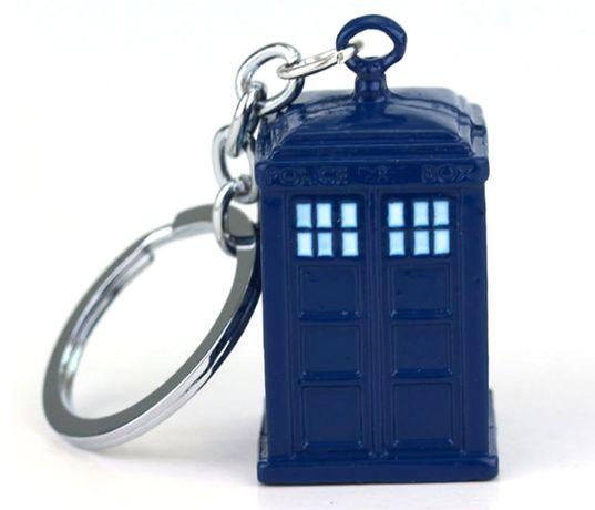[Doctor Who]Брелок Тардис Доктор Кто фильм/сериал Tardis сталь подарок