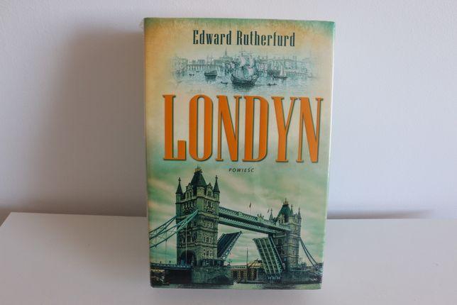 "Książka ""Londyn"" Edward Rutherfurd"