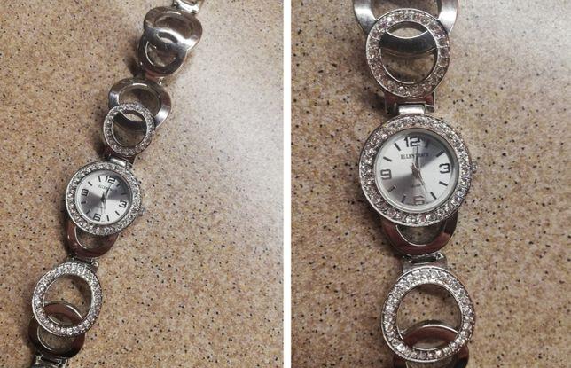 Srebrny zegarek Ellen Tracy