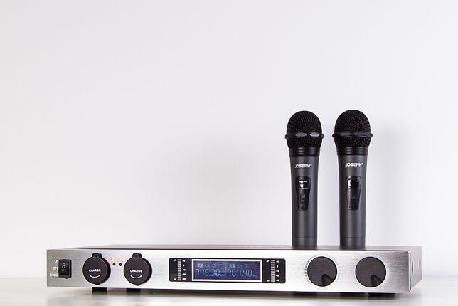Podwójny Mikrofon bezprzewodowy C-966U (2xR)