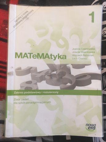 Zbiór zadań do matematyki z Nowej Ery - Matematyka 1