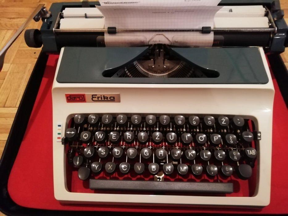 Oryginalna maszyna do pisania Eika Daro Model 3242 stan idealny !!! Warszawa - image 1