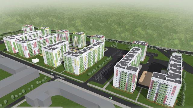 Продам 3-комнатную квартиру в новостройке ЖК Мира 3