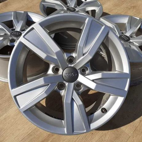 Диски 4шт Audi R16 5x112 A4 A6 Skoda Octavia VW Passat Touran Seat