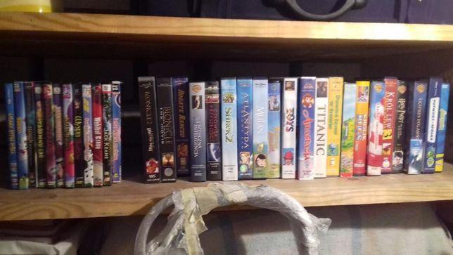 kasety vhs i dvd bajki