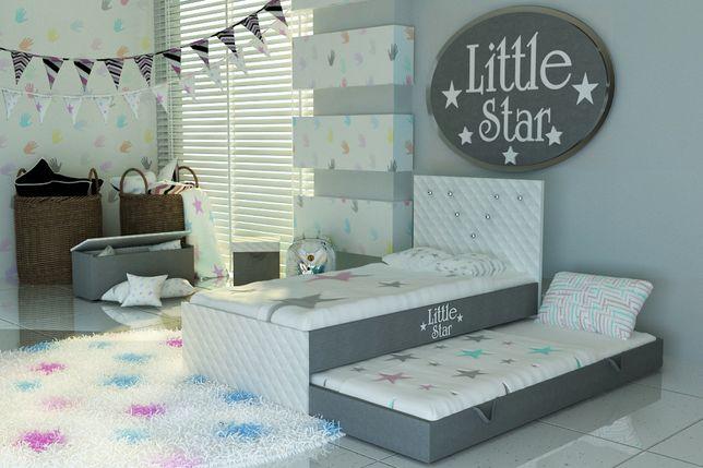Łóżko piętrowe dla dzieci,dziecięce z kryształkami,DOSTAWA GRATIS