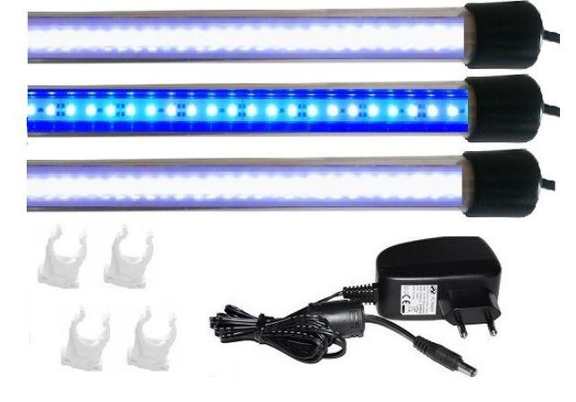 Oświetlenie akwarium led 3X110 CM ZESTAW MALAWI