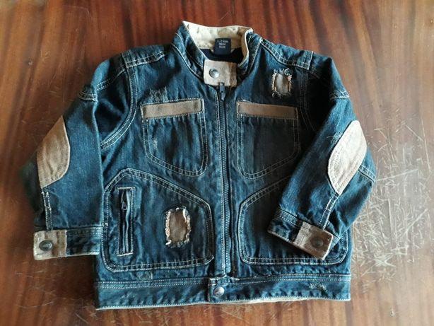 Джинсова куртка на флісі 1,5-2р. 92см