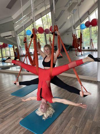 Тренировки по флай йога , флай стретчинг , фейс фитнес