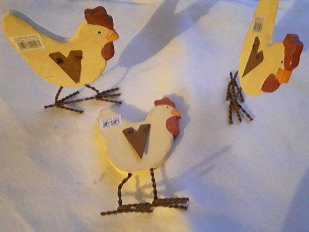 Kury kurczaki ozdoby