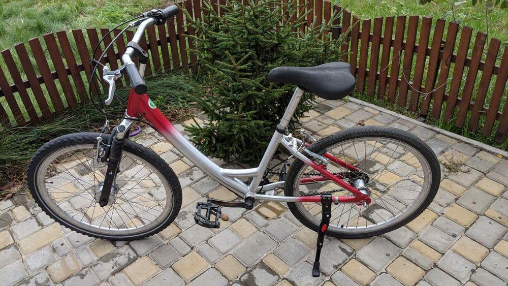 Велосипед с алюминиевой рамой, 24 колеса Васильков - изображение 1