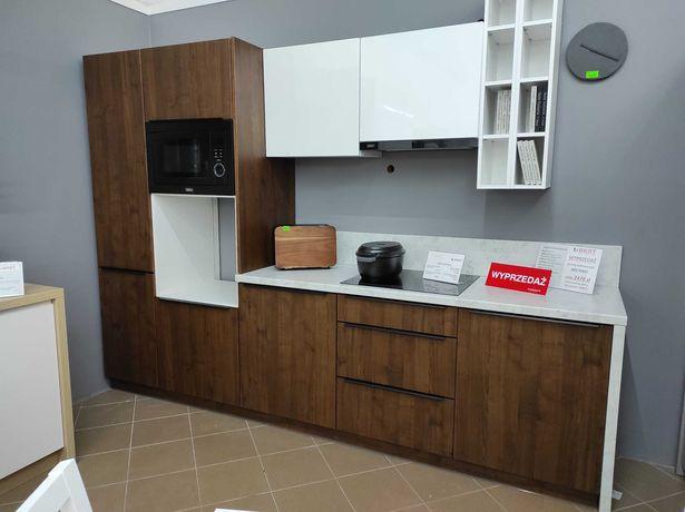 Kuchnia BLACK RED WHITE Senso Kitchen - Smooth Street orzech/biały